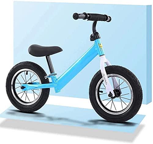 MLL Bicicleta de Equilibrio, Bicicleta de Equilibrio para niños, Bicicleta de Equilibrio sin Pedal para niños pequeños de 2 a 6 años, Bicicleta de Entrenamiento Ligera con Asiento Ajustable, Regalo
