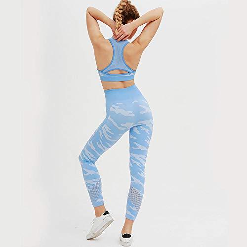 Rrui Sportkleding voor dames, nieuwe hip yoga, outdoor, sport, fitness pak, vest, pak, tweedelige dames, rood, maat S