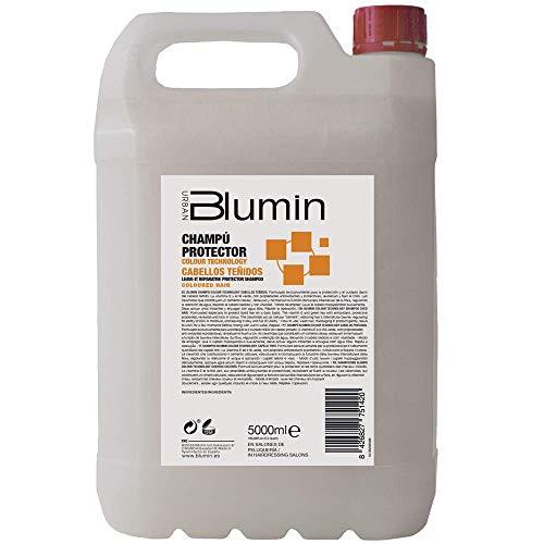 Blumin Champú Profesional de Peluquería Protector Cabellos Teñidos, 5 Litros