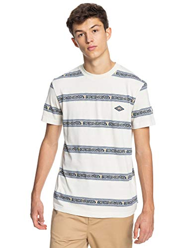 Quiksilver Mixtape - Camiseta con Tejido orgánico para Hombre EQYKT04104