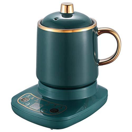 2 in 1 Teekocher und Wasserkocher elektrisch 360W the Smart Tea Infuser Compact Teeautomat Brüh-Funktion (Teeaufbereiter) Automatic Tea Maker Teekocher Elektrisch, BPA-frei (500ML) A