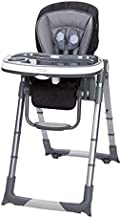 Baby Trend MUV 6-in-1 Custom Dining Chair, Black, Pack of 1