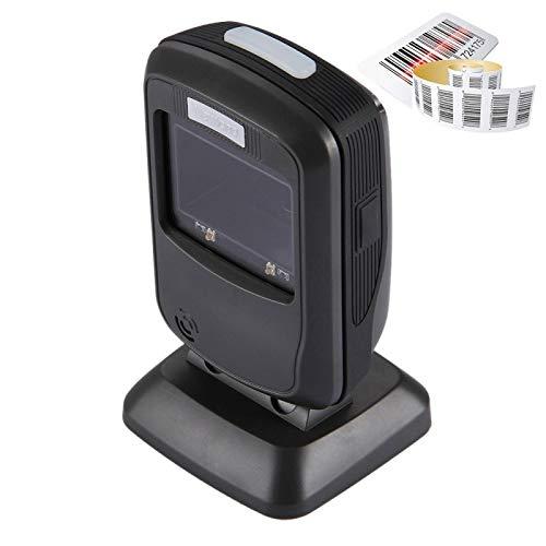 Scanner Fixe - Lecteur à Code Barre USB - Noir
