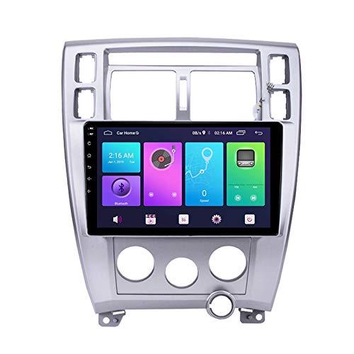 Nav Android 9.0 Car Stereo Double DIN para Hyundai Tuscon 2006-2013 Navegación GPS Unidad Principal de 10 Pulgadas Reproductor Multimedia MP5 Receptor de Video y Radio con 4G WiFi DSP Carplay