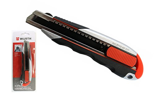 Würth Cutter-Messer 3K-Griff mit Schieber und Klingenklemmung