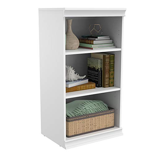 ClosetMaid 4557 Modular Closet Storage Stackable Shelf Unit- White