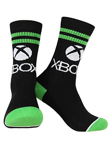 Calcetines para adultos con logotipo de consola de videojuegos, 1 par