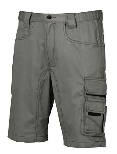U POWER HY017SG-52 HY017SG-52-Pantalone Gamma Happy Modello Party Stone Grey Taglia 52, Piedra Gris, 48 Uomo