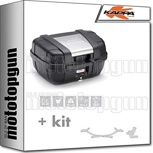 KAPPA MALETA KGR52 GARDA 52 LT + PORTAEQUIPAJE MONOKEY COMPATIBLE CON BMW K75 750