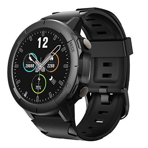 Vigorun Smartwatch Orologio, Touch Screen Bluetooth Orologio Sportivo Impermeabile 5 ATM Fitness Tracker con Misuratore del Battito Monitor del Sonno Contapassi per Android Huawei Samsung