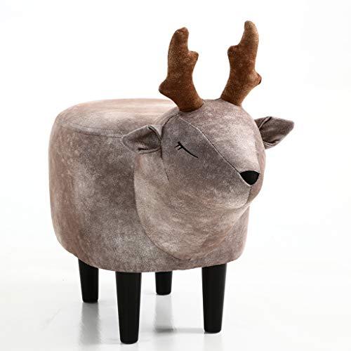 PLL Modern minimalistisch huis Brown Deer woonkamer slaapkamer Change schoenen kruk kruk dier kruk