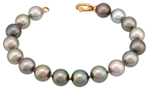 Porchet - NET05/8 : Bracelet Femme Perle de Tahiti et Or 18 carats