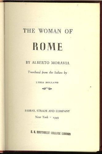 Woman of Rome by Alberto Moravia (1949-06-06)