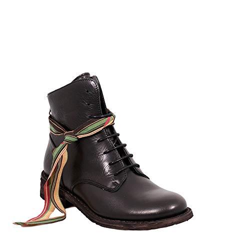 Felmini - Damen Schuhe - Verlieben GREDO 1092 - Reißverschluss Stiefeletten - Echtes Leder -...