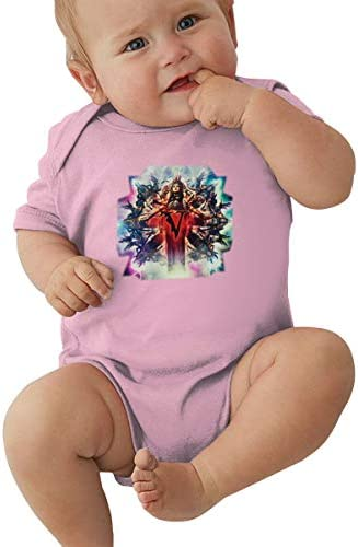 LIIREN Veil of Maya 7 Soft Jumpsuits for Toddler Pink 18M product image