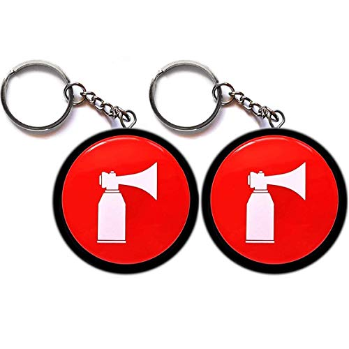 MOPAL 2 Pack, Hype Airhorn Office Toy, New Version