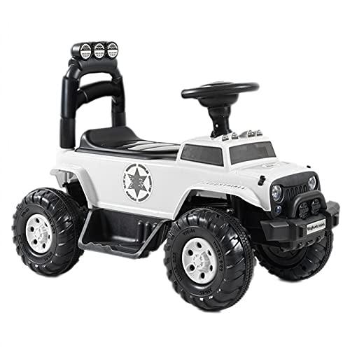 ATAA Bigfoot Mini 6v - Blanco - Coche eléctrico para niños y niñas con batería de 6v