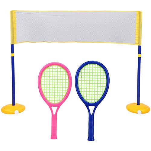 Juguete de pelota para niños, Juguete de voleibol para niños, ZG270-60 Voleibol de bádminton ligero 2 en 1 para interiores y exteriores Uso de niños Juguete de pelota de ocio tradicional(ZG270-60)