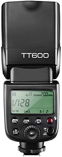 Godox 2X TT600 High Speed Sync 2.4G Wireless Camera Flash Speedlite Light with Godox X1T-N Remote Trigger Transmitter Compatible for Nikon Camera& 2X Diffuser& CONXTRUE USB LED