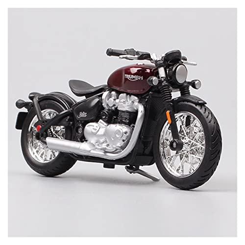 El Maquetas Coche Motocross Fantastico 1:18 Para Triumph Bonneville Bobber Cruiser Motocicleta Diecast Y Vehículos De Juguete Toy Tour Bike Regalos Para Coleccionables Regalos Juegos Mas Vendidos