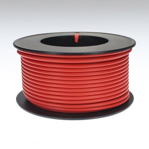 Kabel 2,5 qmm rot 25m Litze Leitung Fahrzeug Auto