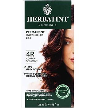 Herbatint Permanent Haircolor Gel 4R Copper Chestnut 4.56 Ounce