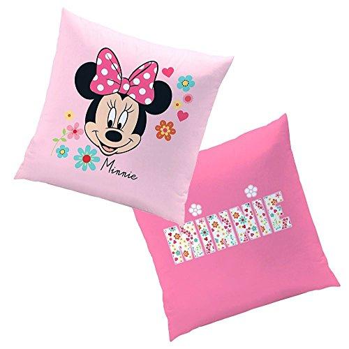 Mouse Liberty | Kinder Kissen 40 x 40 cm | Disney Minnie Maus | Dekokissen