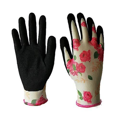 Gartenhandschuhe Garden Pflanz Bodenhandschuhe Unisex Rosenhandschuhe Beethandschuhe Handschuhe zum Graben Gärtner Bauern mit Dornschutzhandschuh Bauhandschuhe Schutzhandschuhe Montagehandschuhe