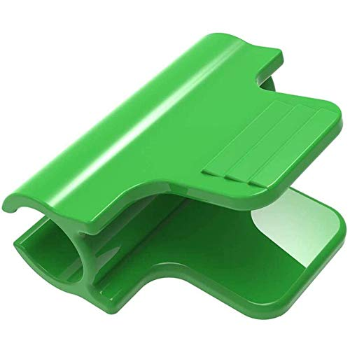Greenhouse Clamp Film Row Cover Verrekening Tunnel Hoop Clips, Clip voor 11mm Plant Stakes, Made en duurzame kunststof PP