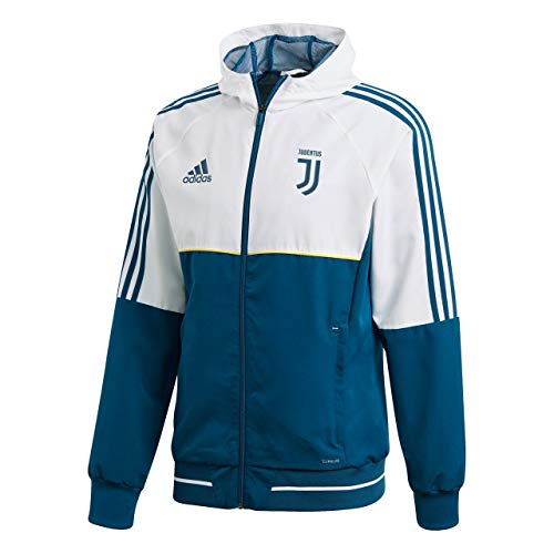 adidas Herren JUVE PRE JKT Jacke, Blue Night f17/White/Bold Gold, XL