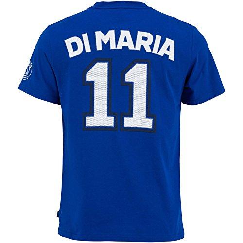 Paris Saint-Germain heren t-shirt, motief Angel Di Maria – officiële collectie, maat volwassenen