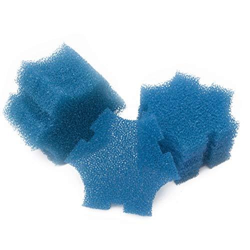 LTWHOME Blau Rauh Ersatz Filterschwamm Passend für Oase SwimSkim 25 (12 Stück)