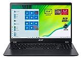 Acer Aspire 3 A315-42-R2Y8 Notebook con Processore AMD Ryzen 3 3200U, Ram da 8 GB DDR4, 256 GB SSD, Display da 15.6' FHD Acer ComfyView LED LCD, Scheda Grafica AMD Radeon Vega 3, Windows 10 Home, Nero