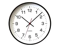 KATOMOKU plywood wall clock 4 km-61BRC ブラウン 電波時計 連続秒針 φ304mm