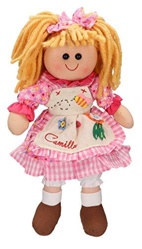 Betz Bambole di pezza Camilla grandezza 30 cm Colore Rosa