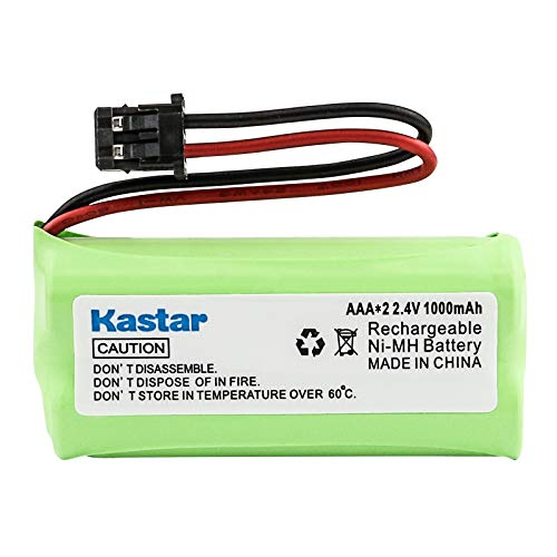 Kastar Cordless Phone Battery Replacement for Uniden BT1021 BT-1021 BT1008 BT-1008 , Uniden 65AAAH2BMS, BBTG0645001, BBTG0734001, BBTG0847001, Radio Shack 23-596, 23-931, 43-221, 43-223 Phone Battery