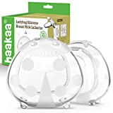 Haakaa Ladybuyg Silicone Milk Collector 2 oz/75 ml, 2 pk