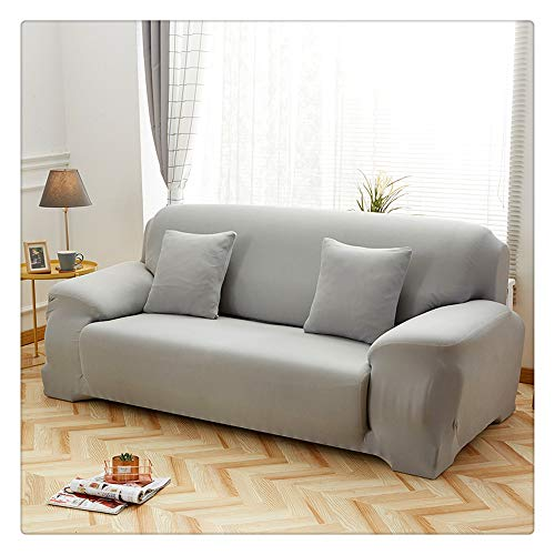 Solid color sofa cover stretch cover elastisches Material für Wohnzimmer Sofas cover L-form sofa cover two-seat three-seater