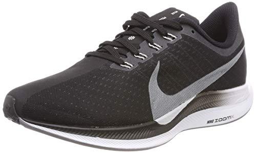 Nike Zoom Pegasus 35 Turbo, Zapatillas de Running Hombre, Multicolor (Black/Vast Grey/Oil Grey/Gunsmoke 001), 49.5 EU