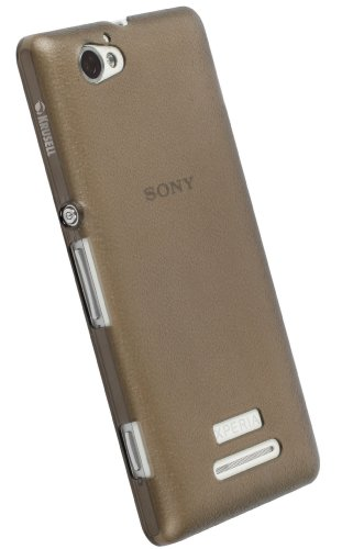 Krusell KR89888 FrostCover - Funda para Sony Xperia M, color negro