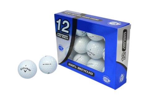 Second Chance Golfbälle 12 Callaway Tour Lake A-Qualität, weiß, PRE-12-CAL-TOUR