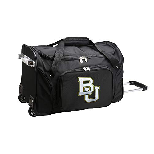 Review NCAA Baylor Bears Wheeled Duffle Bag, 22-inches