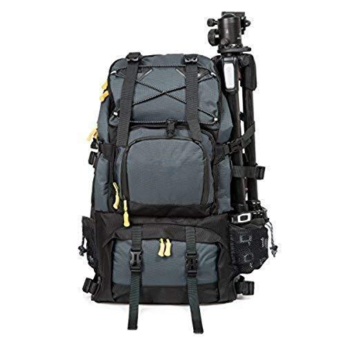 Mochila de viaje profesional para cámara réflex digital y portátil, bolsa de accesorios/cubierta de lluvia para cámaras digitales, portátil de 17 pulgadas, tableta, kit de lentes para cámara digital sin espejo de marco completo