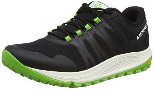 Merrell Nova, Zapatillas de Running para Asfalto para Hombre, Negro (Black/Lime), 41...