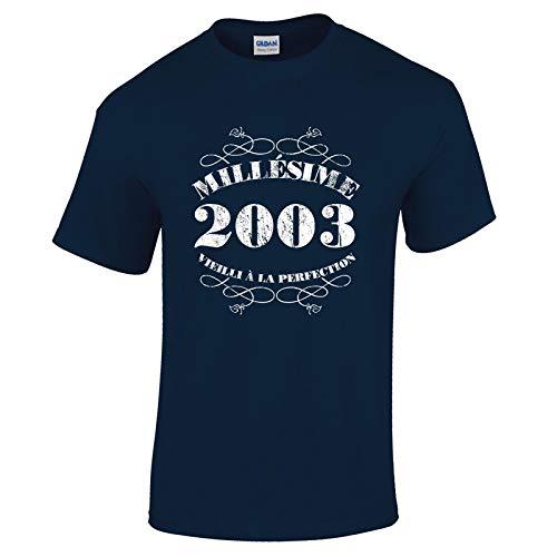 Bang Tidy Clothing T-Shirt Anniversaire Homme 18 Ans Millésime 2003…