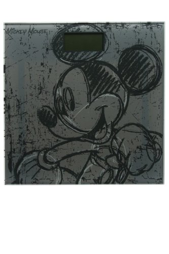 Preisvergleich Produktbild ELI Micky Maus - Elektronische Personenwaage aus Glas