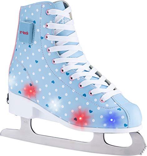 X-TECH ICE STAR LED Schlittschuh lightblue/pink/white, 39-42