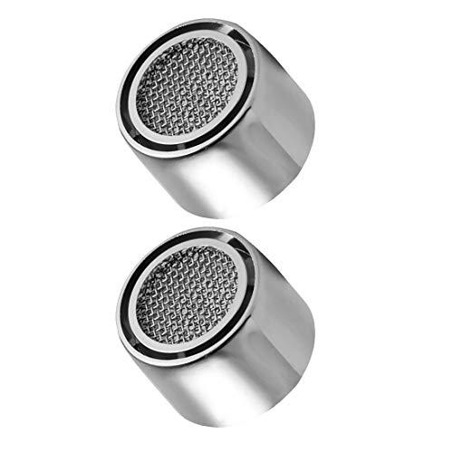 EUROXANTY® Filtro aeratore per rubinetto | Atomizzatore d'acqua | Filtro per rubinetti | Minore consumo di acqua | Filtro ABS e rete metallica | Con guarnizione in gomma | Femmina
