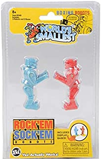 DollarItemDirect Super Worlds Smallest Rock'Em Sock'Em Robots, Case of 24