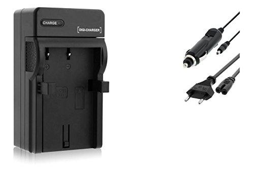 Ladegerät (Netz/KFZ) für Nikon EN-EL9 EN-El9a / D40, D40x, D60, D3000, D5000